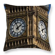 Palace Of Westminster Throw Pillow
