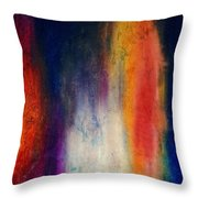 Standing Naked In The Mirror Throw Pillow