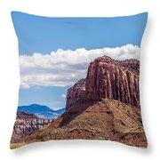 Views Of Canyonlands National Park Throw Pillow