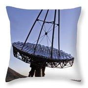 12m Gamma-ray Reflector Telescope Throw Pillow