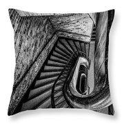 155 Dow Street Throw Pillow