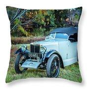 1743.017 1930 Mg Top Quarter Throw Pillow