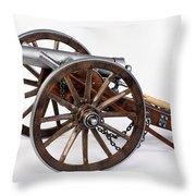 1861 Dahlgren Cannon Throw Pillow