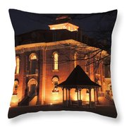 #150 1872 Courthouse Throw Pillow