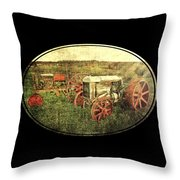 Vintage 1923 Fordson Tractors Throw Pillow