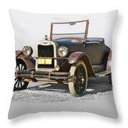 1925 Chevrolet Series K Roadster Throw Pillow
