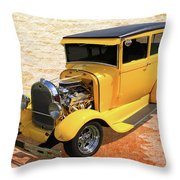 1929 Tudor Throw Pillow