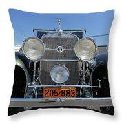 1931 Cadillac Automobile Throw Pillow