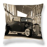 1932 Ford Lil' Deuce Coupe Throw Pillow