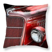 1935 Ford Sedan Grill Throw Pillow