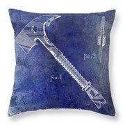 1940 Fireman Ax Patent Throw Pillow