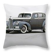1941 Packard 120 Sedan I Throw Pillow