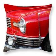1947 Nash Throw Pillow
