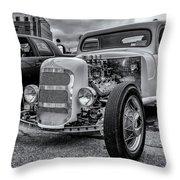 1948 Mercury Pickup Hot Rod Throw Pillow