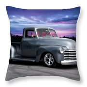 1953 Chevrolet 3100 Custom Pickup  Throw Pillow