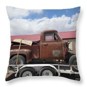1953 Ford F-100 Truck Throw Pillow