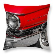 1960 Cadillac Throw Pillow