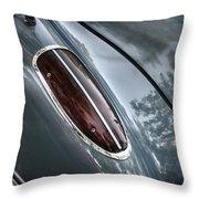 1960 Chevrolet Corvette Taillight Throw Pillow