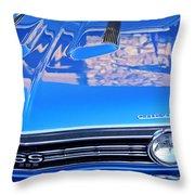 1967 Chevrolet Chevelle Super Sport  Throw Pillow