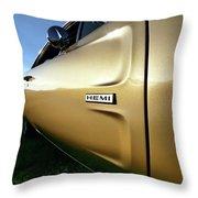 1968 Dodge Charger Hemi Throw Pillow