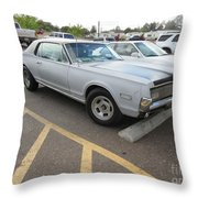 1968 Mercury Cougar Xr7 Throw Pillow