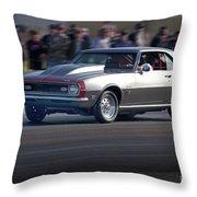 1969 Camaro Ss396 Throw Pillow