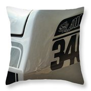 1971 Plymouth Duster 340 Throw Pillow