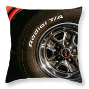 1972 Olds 442 Throw Pillow