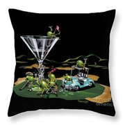 19th Hole Throw Pillow