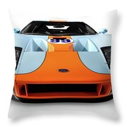 2006 Ford Gt Throw Pillow