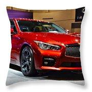 2015 Infiniti Q50 Throw Pillow