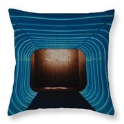 32 Time Warp Throw Pillow