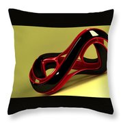 3D Throw Pillow