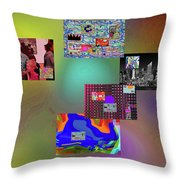 1-4-2057a Throw Pillow