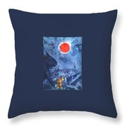 4dpictdswq Marc Chagall Throw Pillow