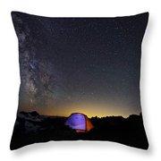 5 Billion Stars Hotel Throw Pillow