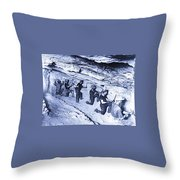 500-feet Level Sulphate Stope Tombstone Consolidated Mine 1904-2013 Throw Pillow