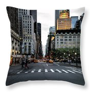 5th Avenue Throw Pillow