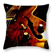 '68 Gibson Throw Pillow
