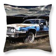 69 Thunderbird Throw Pillow