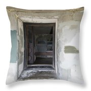 7-A Throw Pillow