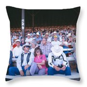 75th Ellensburg Rodeo, Labor Day Throw Pillow