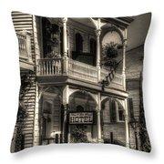 905 Royal Hotel Throw Pillow