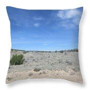 A Concho Landscape Throw Pillow