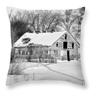 A Hard Life Winter 2 Throw Pillow
