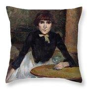 A La Bastille  Throw Pillow
