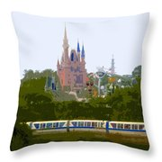 A Land Of Magic Throw Pillow
