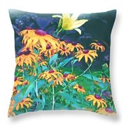 A Lily In The Field Throw Pillow