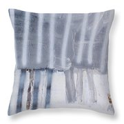 A Moment In Line Throw Pillow