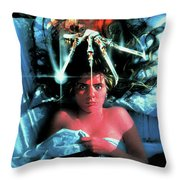 A Nightmare On Elm Street 1984 Throw Pillow
